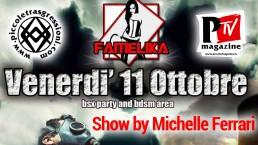Spettacolo di Michelle Ferrari alla serata Famelika del Baraonda - 11.10.2019